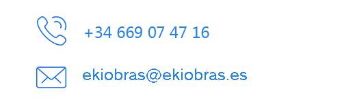 Contacta con Ekiobras Sevilla